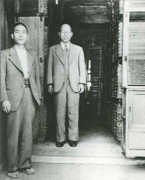 鈴木一平(右)と小林康麿(左)